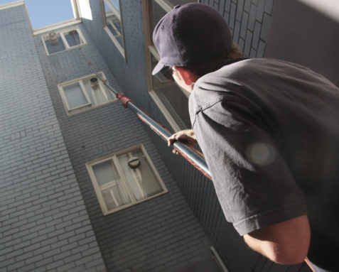 commercial window cleaning in Melbourne